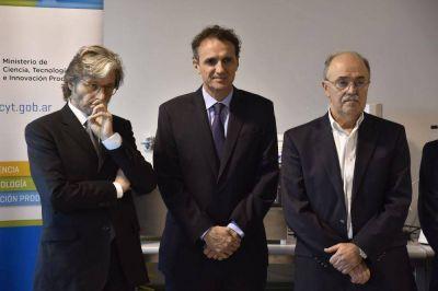Katopodis participó de la inauguración de un nuevo edificio de la Fundación Argentina de Nanotecnología en la UNSAM