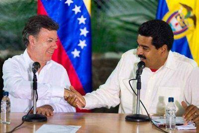 Cara a cara, Maduro y Santos acuerdan una solución a la crisis