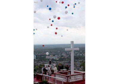 El Santo Padre bendijo la ciudad de Holguín