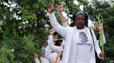 Las Damas de Blanco: «Nos impidieron saludar al Papa»