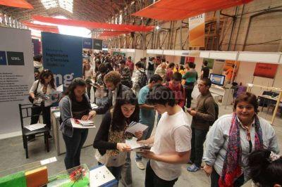 El miércoles arranca la Expo Carreras de la UNL