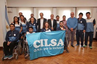 La Ciudad reconoció a los santafesinos que participaron de los Juegos Parapanamericanos
