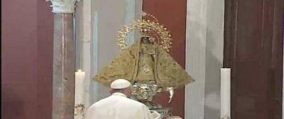 El Papa, a la Caridad del Cobre: