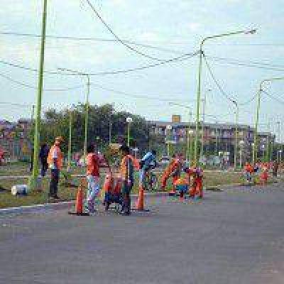 Resistencia: El Municipio realizó limpieza en diferentes sectores