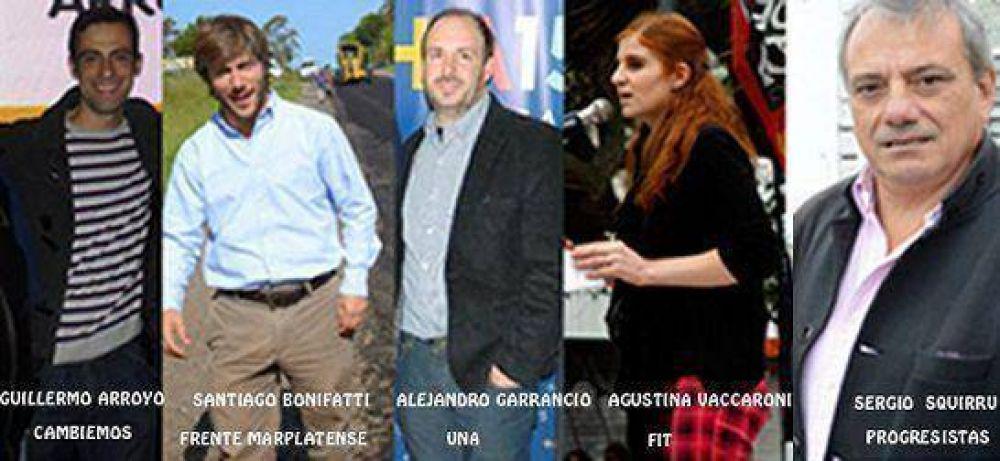 Así quedaron conformadas las listas de candidatos a concejales en General Pueyrredón