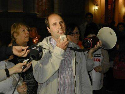 """Dabel Oyhanart: """"Convocamos a una nueva marcha el sábado 17 de octubre"""""""