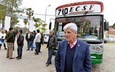 San Fernando: Andreotti inauguró micro que llega al Polideportivo N° 3