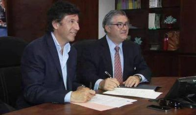 Posse firmó en Miami un acuerdo de capacitación en salud y seguridad