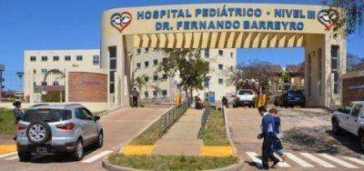 Todo listo en el hospital de Pediatría para recibir a la Presidenta