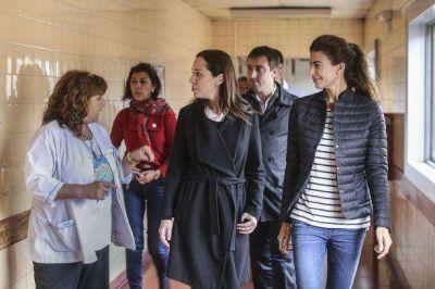 La esposa de Macri acompaño a Vidal en una recorrida por Jose C Paz
