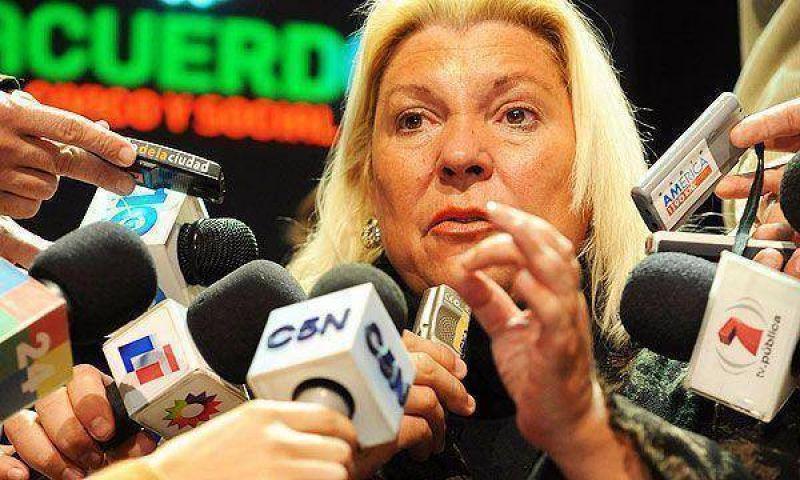 """Carri� volvi� a decir que """"el di�logo es una mentira"""" y se�al� que """"el radicalismo dice que ha fracasado"""""""