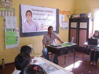 Javier Caraballo dialog� con estudiantes: