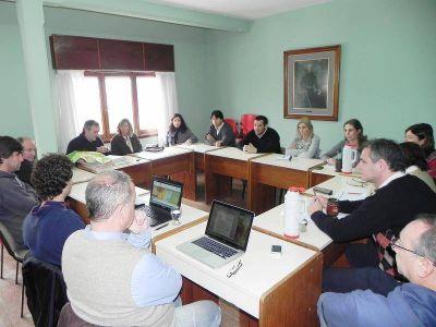 General Madariaga: Reunión sobre el nuevo código de ordenamiento urbano