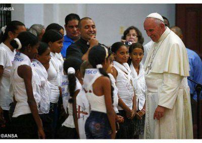 Peregrinos en Cuba: