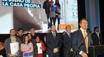 Scioli propone replicar su programa de regularización de escrituras en todo el país
