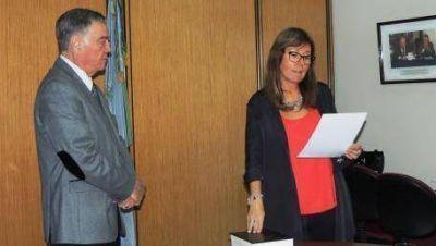 Magistratura: Fioramonti asumió como vicepresidenta