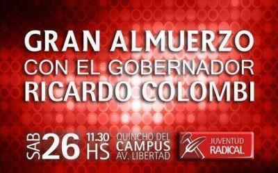 La Juventud Radical de Capital almorzará junto a Colombi para escuchar propuestas