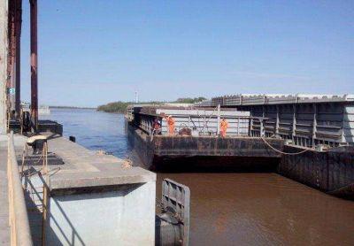 Embarcaron 19.450 toneladas de soja a granel en el Puerto de Diamante