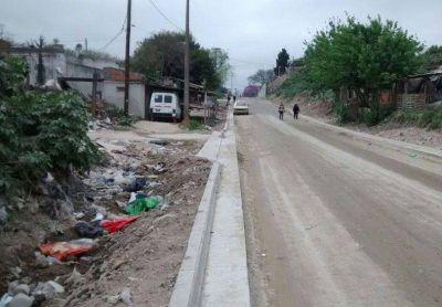 Realizan obras en la zona de la planta de residuos