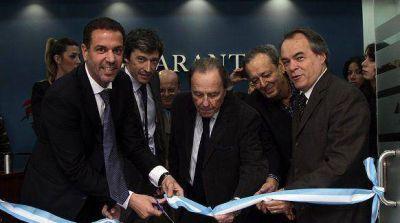Rial inauguró una sucursal de Garantizar en Vicente López