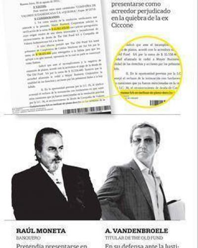 Rev�s para Boudou: seg�n un juez, Moneta no financi� la compra de la ex Ciccone