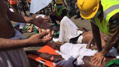 Tragedia en la peregrinación a La Meca: centenares de muertos por una estampida
