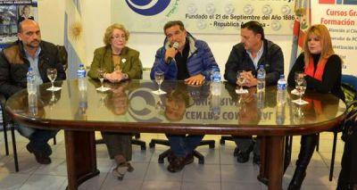 Beder Herrera y Quintela se reunieron con miembros del CCI