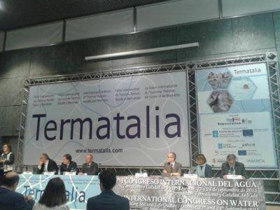 Termas de Catamarca se presentaron en el Congreso Internacional del Agua de España