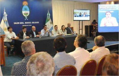 """Capitanich presenta el plan """"Construyendo Resiliencia en el Gran Chaco Americano"""""""
