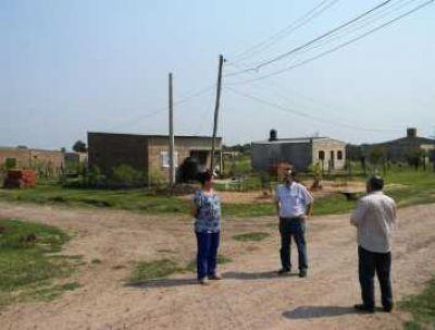 SECHEEP ejecuta obras energéticas en Las Garcitas: se invertirán casi $ 13 millones