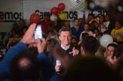 Macri visitó San Fernando con Vidal y apoyo a Campbell