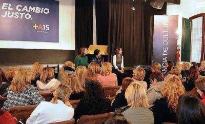 Malena Massa y Marcela Durrieu encabezaron reunión de mujeres