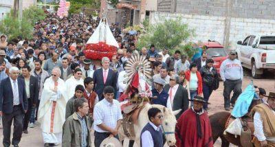 Zottos comparti� con el pueblo de El Jard�n la fiesta en honor a la Virgen de La Merced