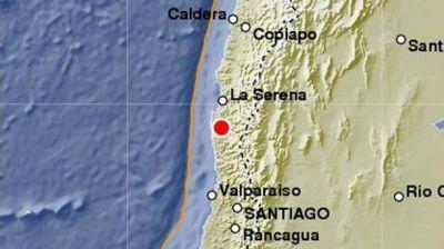 Volvió a temblar la costa de Chile y se sintió en edificios de altura de Tucumán