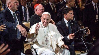 El papa Francisco arribó a Filadelfia para el Encuentro Mundial de las Familias