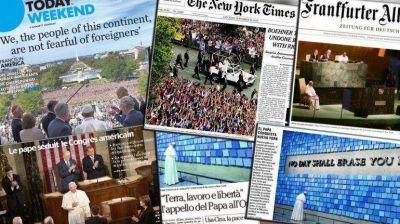 El papa Francisco en los medios de todo el planeta: