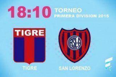 San Lorenzo visita a Tigre con el objetivo de ganar para seguir luchando por el título