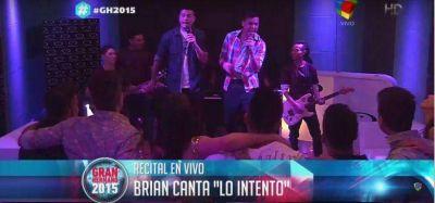 """GH2015: Brian y su banda tocaron para los """"hermanitos"""""""