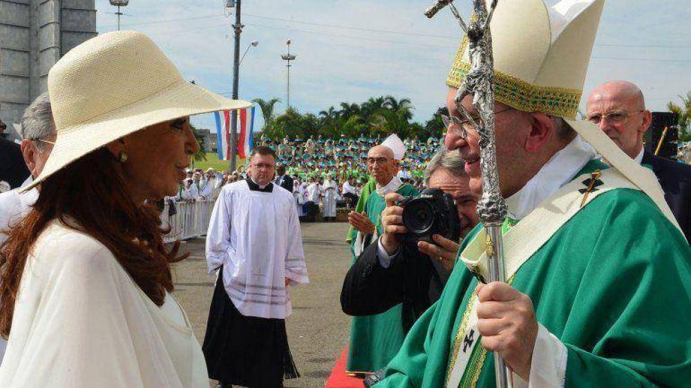 El papa Francisco, Cristina Kirchner y la Boleta Única Complementaria