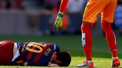 Messi se queda sin Eliminatorias: estar� entre siete y ocho semanas sin jugar