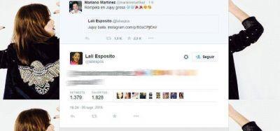 La tibia respuesta de Lali al tweet de Mariano Martínez