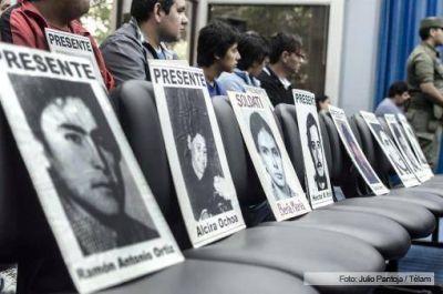 Se llevan a cabo en el país 15 juicios por delitos de lesa humanidad