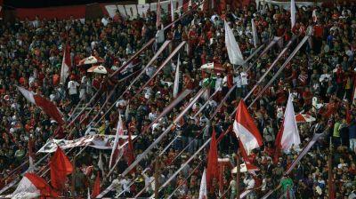 La vuelta de los visitantes: Independiente llevó hinchas a Lanús