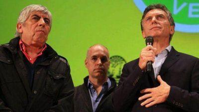 Macri se mostró con Moyano y preparan nueva visita a Entre Ríos