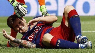 Messi agradeció el apoyo de la gente por su lesión