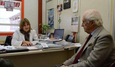 Solanas denunció recortes en el Garrahan