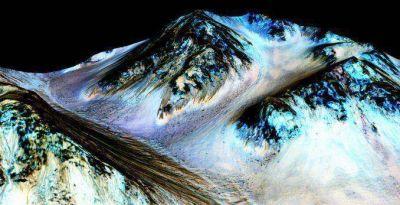 La NASA reveló que encontraron agua en Marte: podría haber vida en el planeta rojo