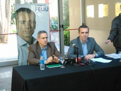 """Feliú quiere ponerse """"al frente"""" de la seguridad en Bahía"""