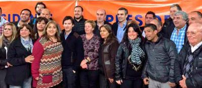 En el fondo todos somos peronistas... Sin Budassi, los sciolistas brindaron su apoyo a Marcelo Feliú