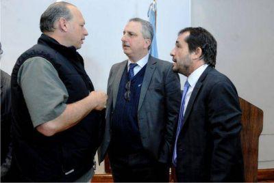 Alerta Temprana: Passalacqua participó de reunión de trabajo con funcionarios nacionales